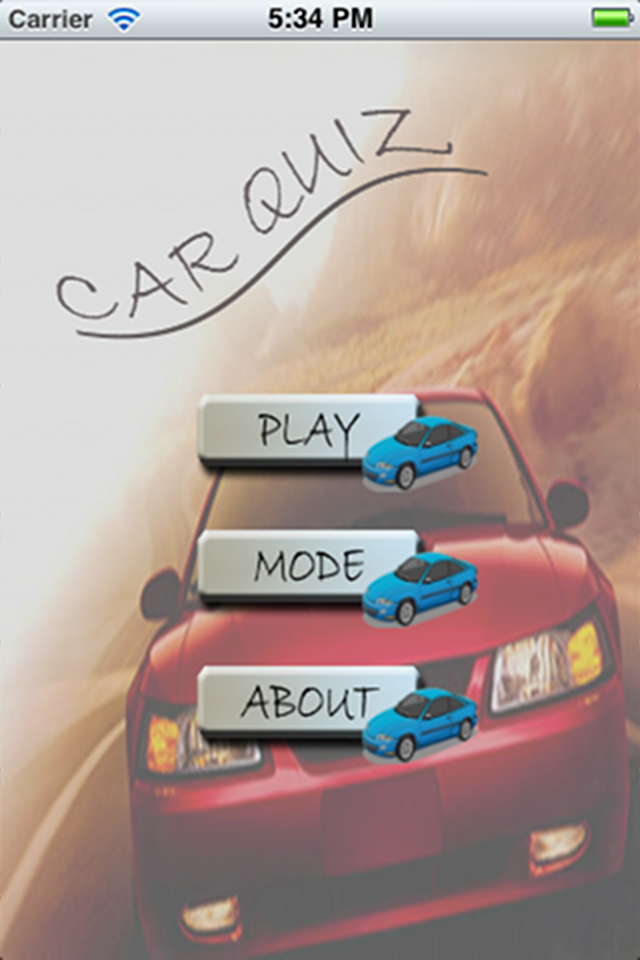 Screenshot Car Trivial