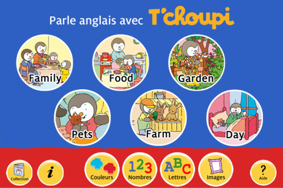 Screenshot T'choupi – Apprends l'Anglais